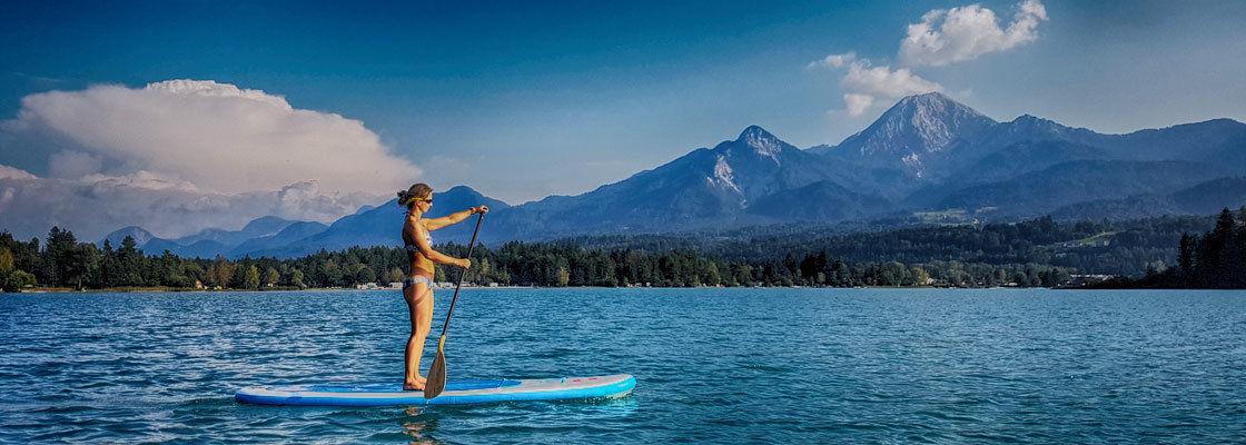 SUP-os helyek a világban – 4. rész Karintia (Ossiachi-tó, Faaki-tó, Wörthi-tó)