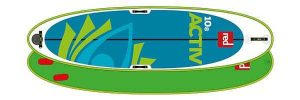 RED 10'8 ACTIV MSL Yoga