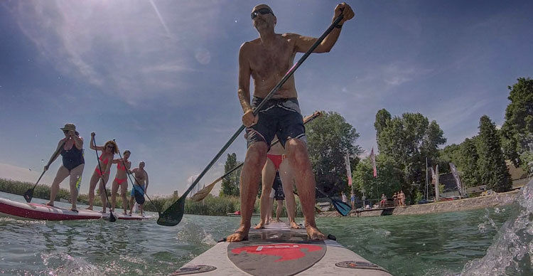 RED Dragon SUP Verseny 2019