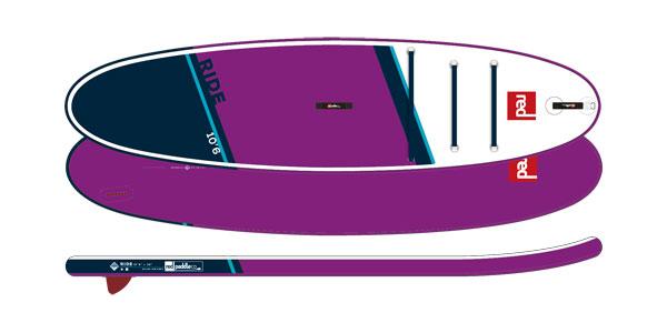 2021 RED 10'6 Ride SE MSL