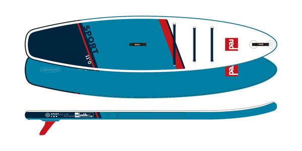 RED Paddle Co. 11' SPORT SUP deszka