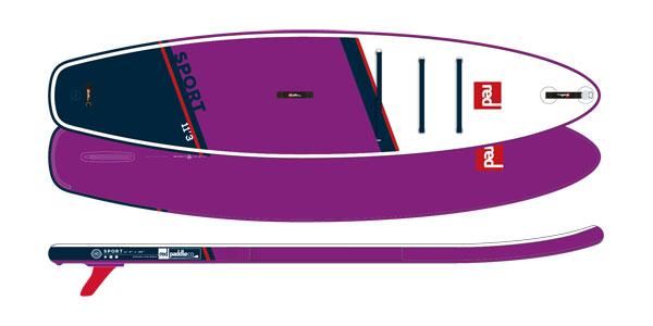 RED Paddle Co. 11'3 SPORT SE SUP deszka