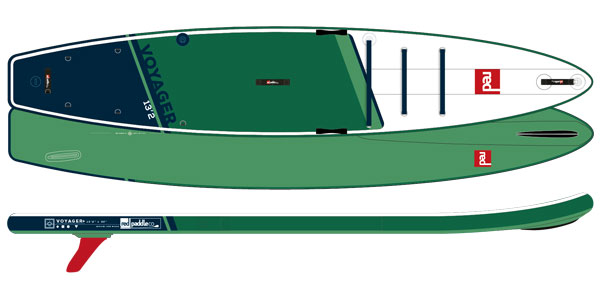 2021 RED 13'2 VOYAGER MSL
